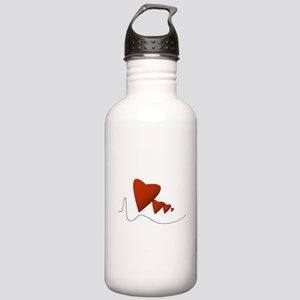 Heartbeats - Stainless Water Bottle 1.0L