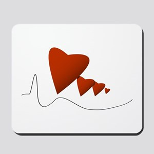 Heartbeats - Mousepad