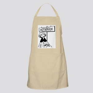 Ticklin Whiskers BBQ Apron