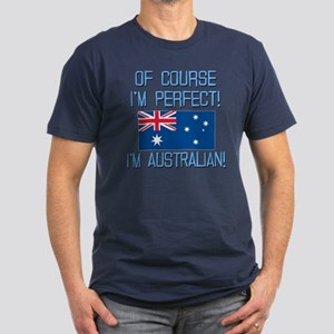 Perfect Australian Men's Fitted T-Shirt (dark)