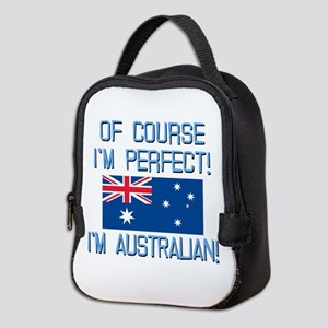 Perfect Australian Neoprene Lunch Bag
