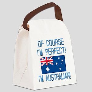 Perfect Australian Canvas Lunch Bag