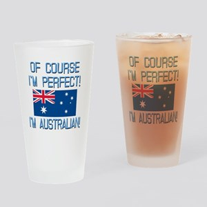 Perfect Australian Drinking Glass