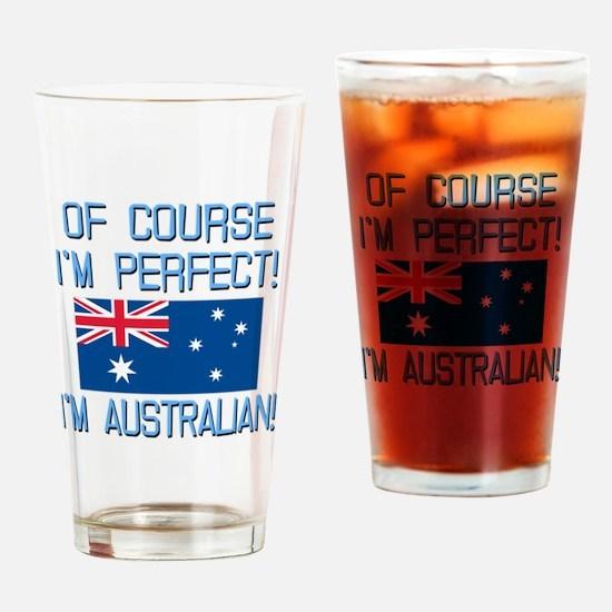 Perfect Australian Drinking Glass