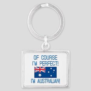 Perfect Australian Landscape Keychain