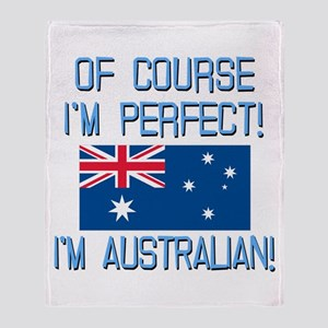 Perfect Australian Throw Blanket