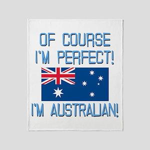Perfect Australian Throw Blanket