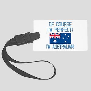 Perfect Australian Large Luggage Tag