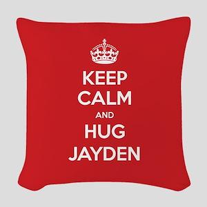 Hug Jayden Woven Throw Pillow