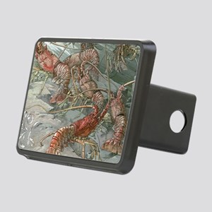 Vintage Lobsters Rectangular Hitch Cover