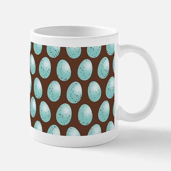 Robin Egg Pattern Mugs
