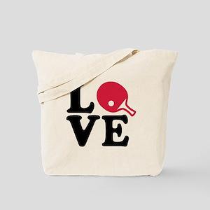 Table tennis love Tote Bag