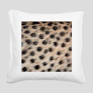Wild Animal Pattern Square Canvas Pillow