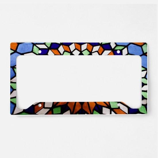 Church Art License Plate Holder
