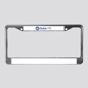 Dobis P.r. License Plate Frame