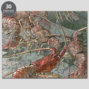 Vintage Lobsters Puzzle
