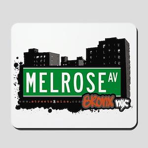 Melrose Av, Bronx, NYC Mousepad