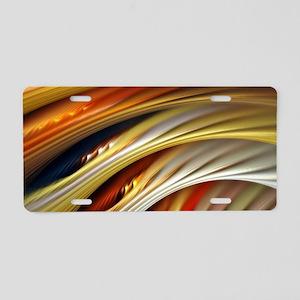 Colors of Art Aluminum License Plate