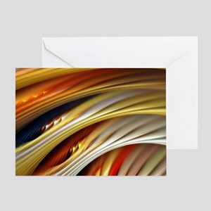 Colors of Art Greeting Card