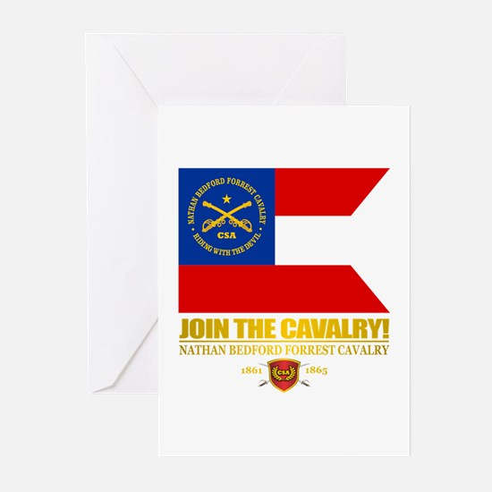 JTC (Forrest Cavalry) Greeting Cards