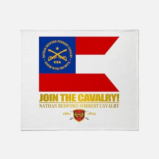 JTC (Forrest Cavalry) Throw Blanket