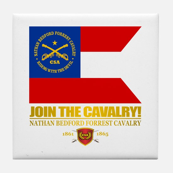 JTC (Forrest Cavalry) Tile Coaster