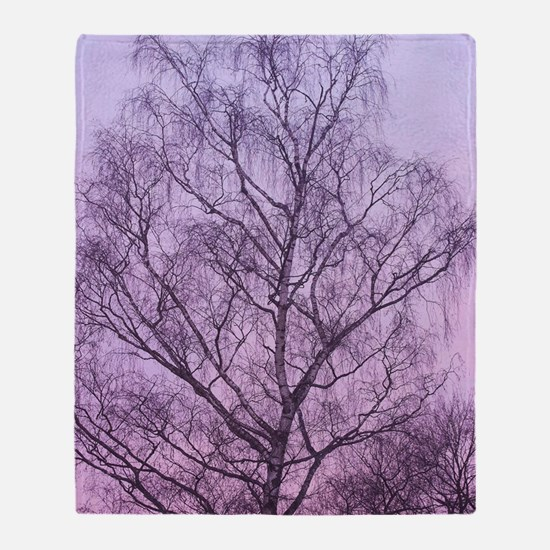 Art of Tree Throw Blanket