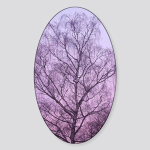 Art of Tree Sticker (Oval)