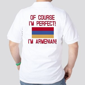 Perfect Armenian Golf Shirt