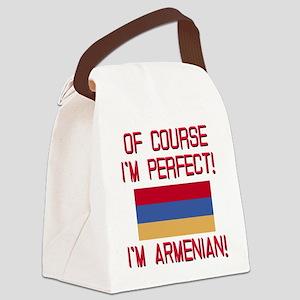 Perfect Armenian Canvas Lunch Bag