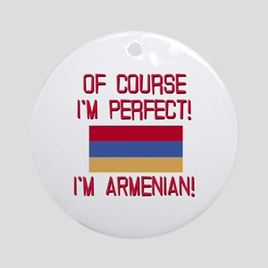 Perfect Armenian Ornament (Round)
