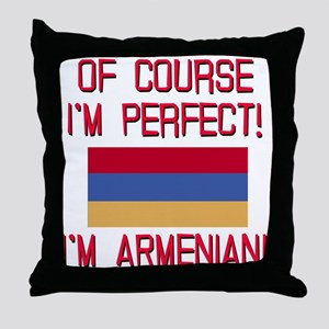 Perfect Armenian Throw Pillow