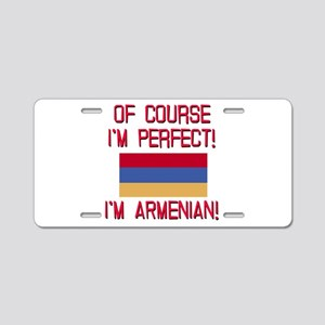 Perfect Armenian Aluminum License Plate