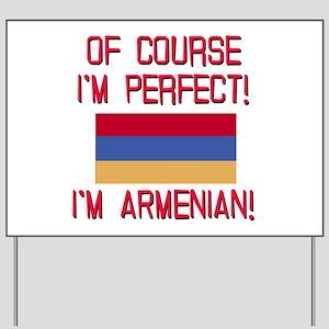 Perfect Armenian Yard Sign