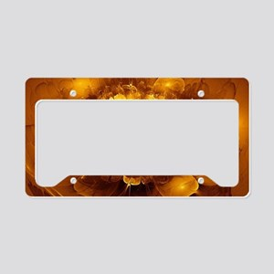 Golden Art License Plate Holder