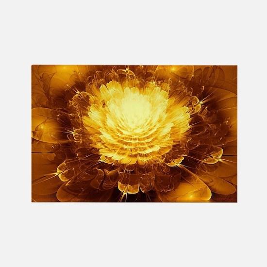 Golden Art Rectangle Magnet