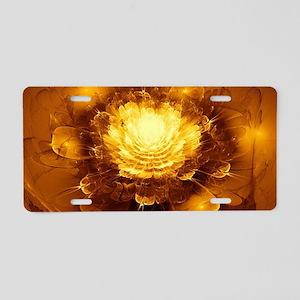 Golden Art Aluminum License Plate