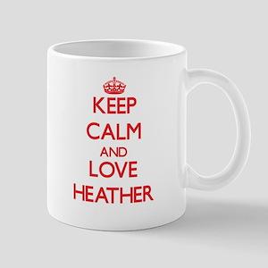 Keep Calm and Love Heather Mugs