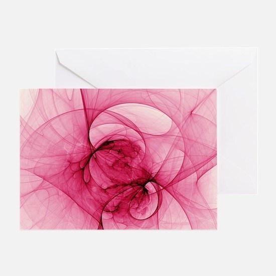 Fractal Art Greeting Card