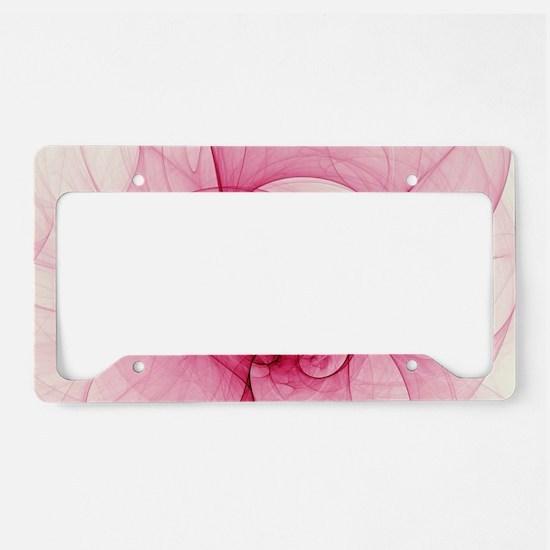 Fractal Art License Plate Holder