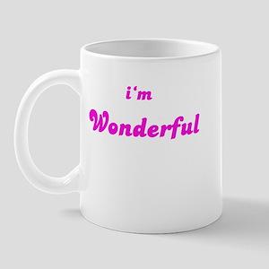 I AM WONDERFUL Mug