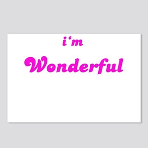 I AM WONDERFUL Postcards (Package of 8)
