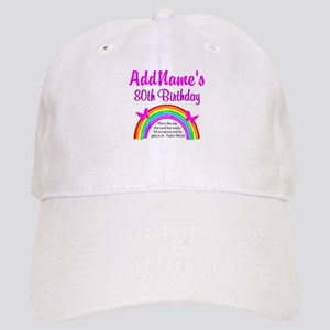 80TH RAINBOW Cap