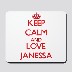 Keep Calm and Love Janessa Mousepad