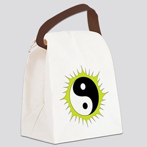 Yin Yang in front of the Sun - Canvas Lunch Bag