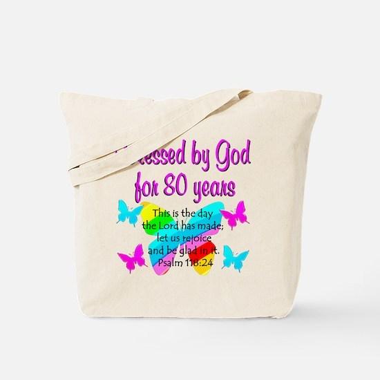 80TH PRAISE GOD Tote Bag