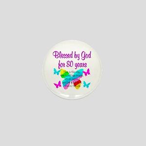 80TH PRAISE GOD Mini Button