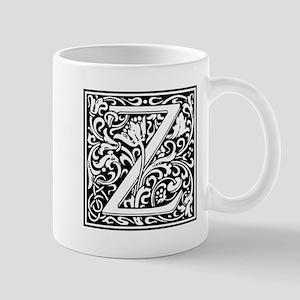 Decorative Letter Z Mugs