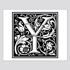 Decorative Letter Y Posters