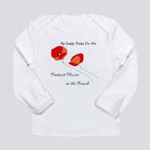 Prettiest Flower Long Sleeve T-Shirt